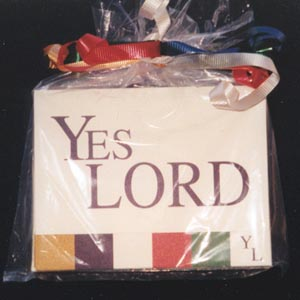 G-YL-NC - Yes Lord NoteCards