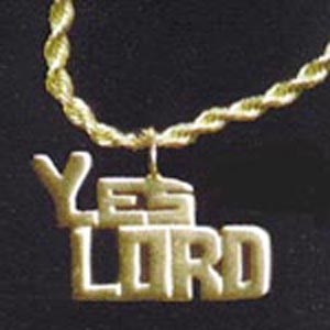 J-YL-GPWC - Yes Lord Gold Pendant with Chain