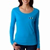 TS-AN-399 - Ladies Featherweight LS Scoop Tee