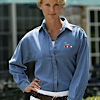 DS-UC-8966 - Ladies Long Sleeve Denim 8966