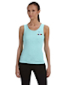 TS-B-1080 - Ladies 1x1 Rib Tank Top