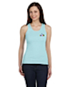 TS-B-4000 - Ladies 2x1 Rib Tank Top