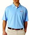GS-UC-8325 - Mens UltraClub Platinum Golf Shirt