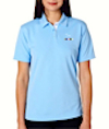 GS-UC-8325-L - Ladies UltraClub Platinum Golf Shirt