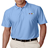 GS-UC-8413 - Mens Elite Tonal Stripe Performance Polo
