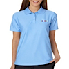 GS-UC-8413-L - Ladies Elite Tonal Stripe Performance Polo