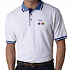 GS-UC-8536 - Classic Pique Polo with Contrasting Multi-Stripe