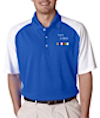 GS-UC-8446 - Men's Cool & Dry Two-Tone Stain Release Polo